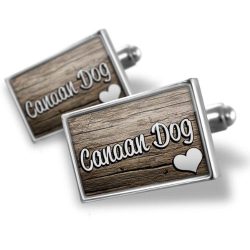 Sterling Silver Cufflinks Canaan Dog, Dog Breed Israel - Neonblond 925 Sterling Silver Cufflinks, Hand made in Atlanta GA. Standard Size is approximately 19mm x 12mm. We have more then 30,000 different Cuff Links. Money-back Satisfaction Guarantee. Products are Assembled in America.  #NEONBLOND #Jewelry