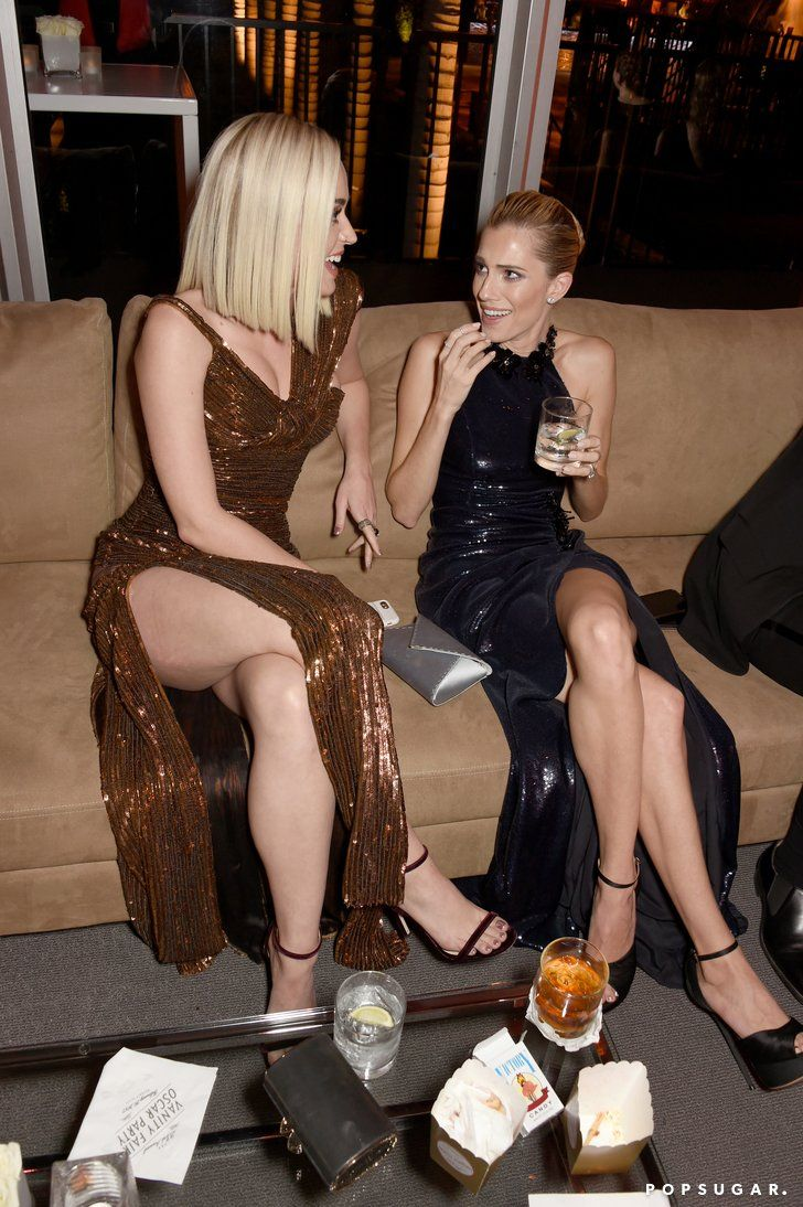 Katy Perry et Allison Williams