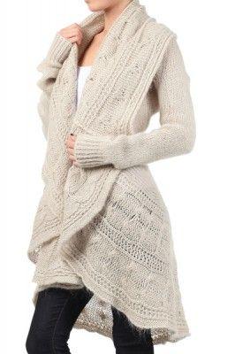 Cozy cardigan. I want something like this!