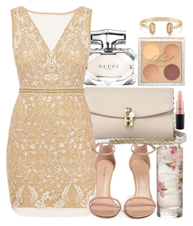 """""""New year"""" by marias1808 ❤ liked on Polyvore featuring Dolce&Gabbana, Gucci, Nicole Miller, Stuart Weitzman, MAC Cosmetics and Kendra Scott"""