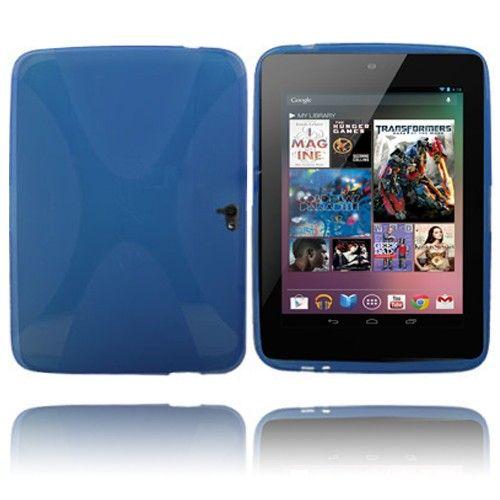 X-line (Blå) Google Nexus 10 Deksel