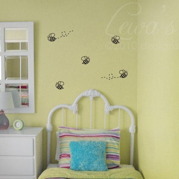 Bumble Bee Wall Decals
