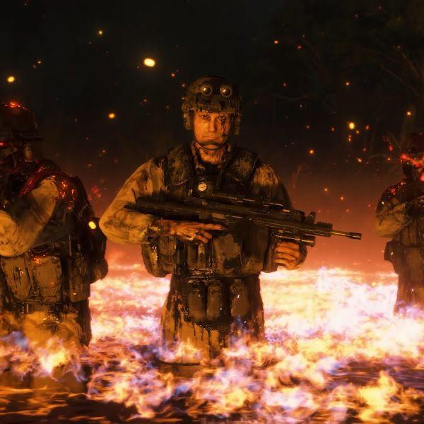 Death Stranding Cliff Skeleton Soldiers Mads Mikkelsen 4k 3840x2160 Wallpaper Anime Movies Anime World Art