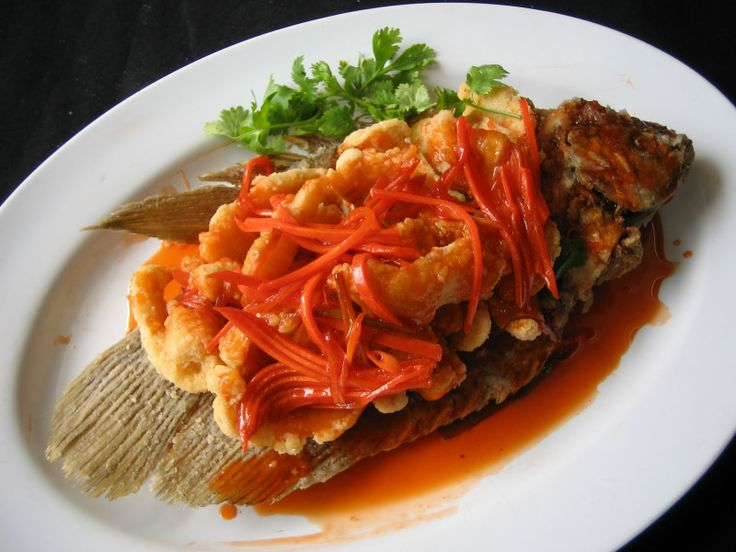 Sweet And Sour Carp