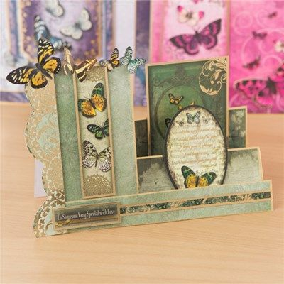Hunkydory Flight of the Butterflies - Jewelled Edition Luxury Card Collection with Free Jewelled Edition Concept Cards (366840)   Create and Craft