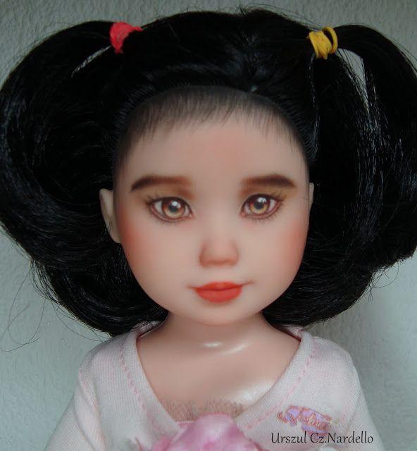 OOAK -Moja pasja: Xianmei...repaint ooak doll... :)
