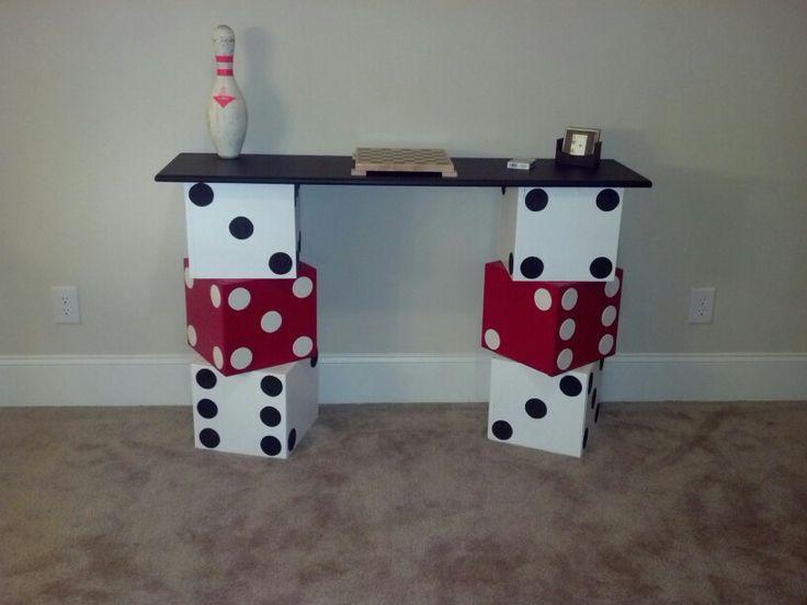 Building a games room decor
