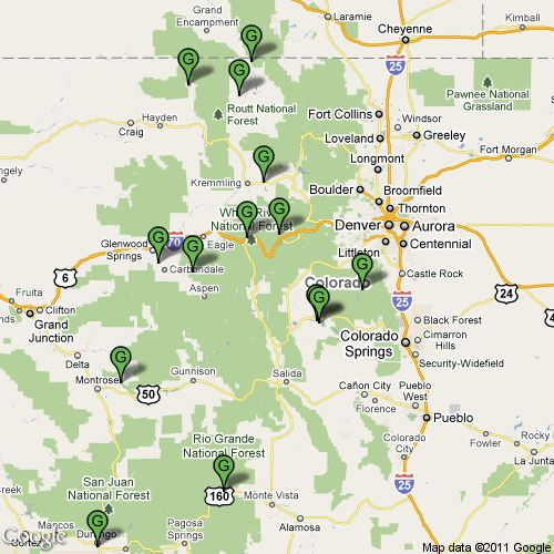 123 best maps images on pinterest maps old maps and cards for Colorado fishing map