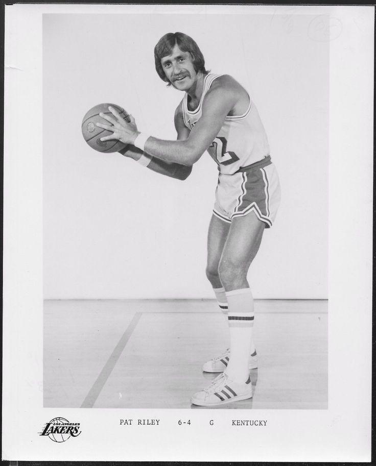 PAT RILEY Los Angeles Lakers 1970's ORIG B&W Team Issued Press Photo | eBay