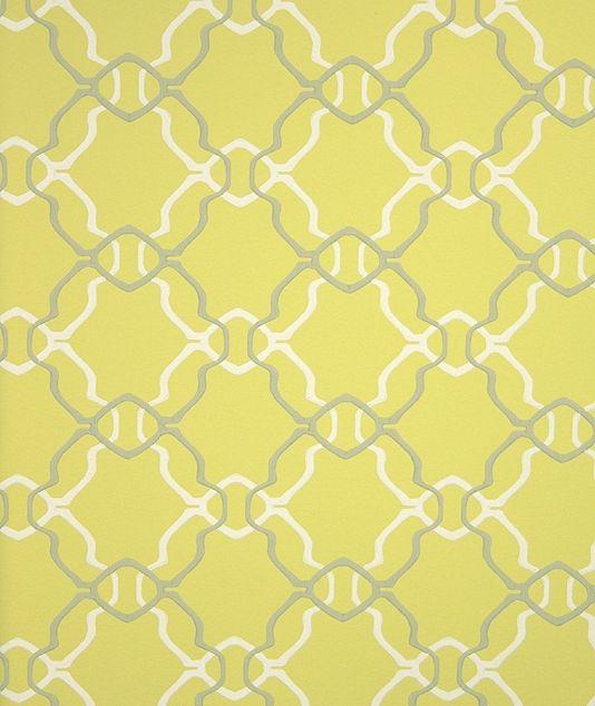 Aladdin Wallpaper A Acid Yellow Wallpaper With Geometric