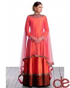 DE A Unique Combination Bridal Suit For A Perfect Bride