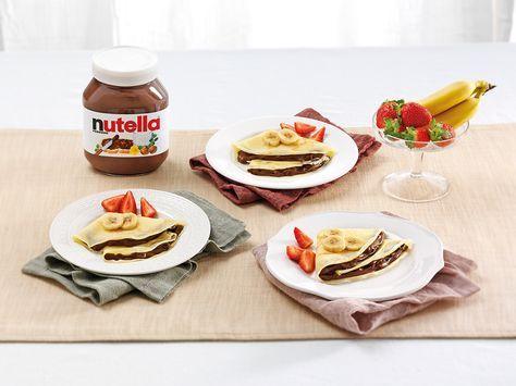 Crêpes con Nutella® e frutta - Nutella