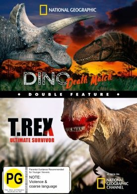 National Geographic: Double Feature - Dino Death Match / T.Rex Ultimate Survivor