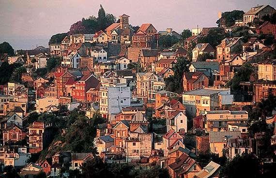 Antananarivo, Madagascar in 1997