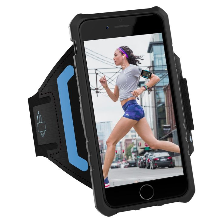 iPhone 7 Armband & Armour Case Set- LOVPHONE Multifunctional Sport Running Armband + Premium Shockproof Protective Case with Kickstand for iPhone 7/6/6S,Soft Elastic Strap with Key Holder-(Gunmetal)-S. Compatible only with iPhone 7/6/6S,Size L for arm circumference from 9.4 to 16.3 inch,.Size S for arm circumference from 8.7 to 14.6 inch. LOVPHONE multifunctional Sport Running armband with Premium PC+TPU protective Case,The 2 Piece Slim Shield workout set is super EASY TO USE:combined the…
