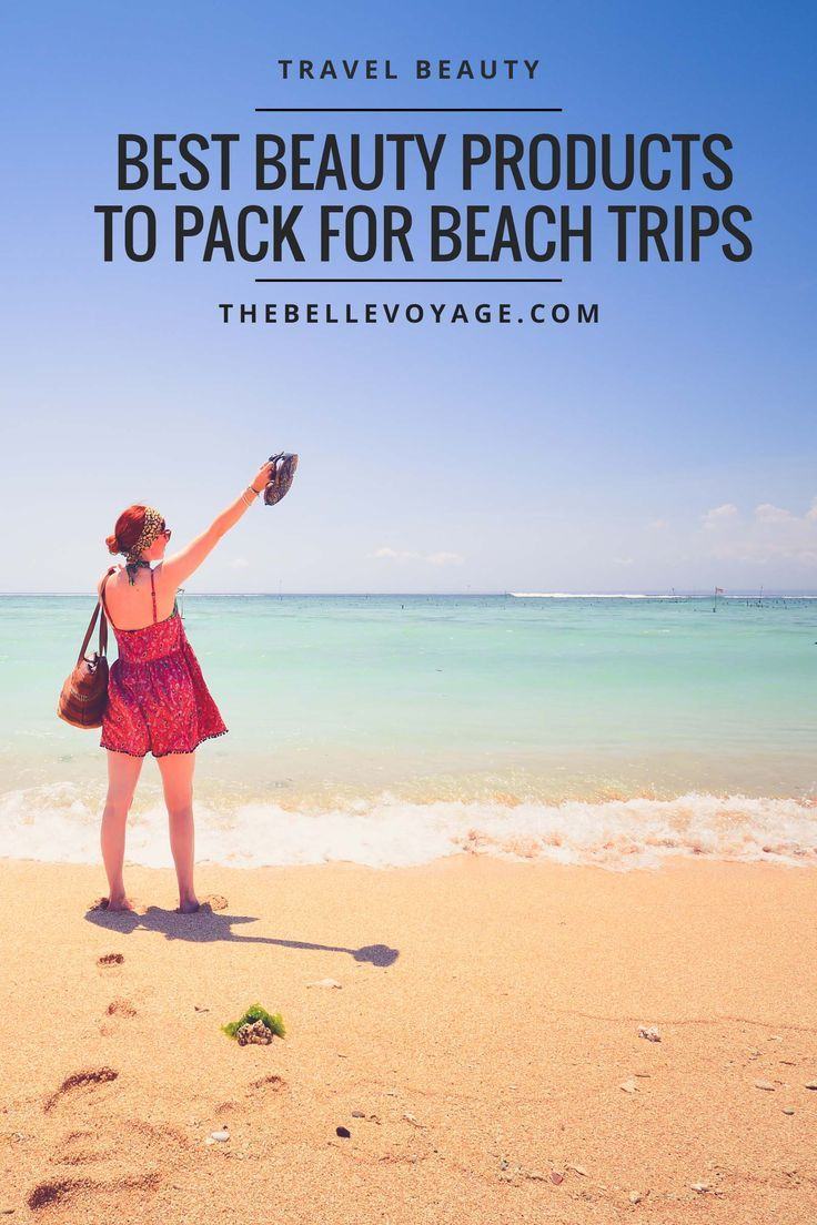 Travel beauty tips and travel beauty essentials for summer travel. Travel beauty products, travel beauty hacks, and packing list.