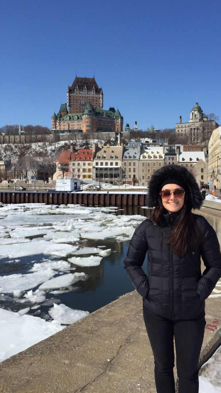 """Castle in the cold"" by TravelPod blogger joemurphy from the entry ""Quebec City to Montreal"" on Tuesday, April  7, 2015 in Montreal, Canada"