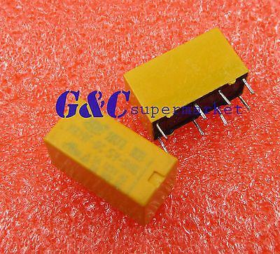 DC 5V Coil DPDT 8 Pin 2NO 2NC Mini Power Relays PCB Type HK19F #Affiliate