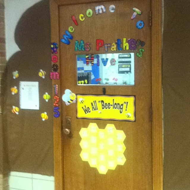 Classroom Theme Bumble Bee Hive