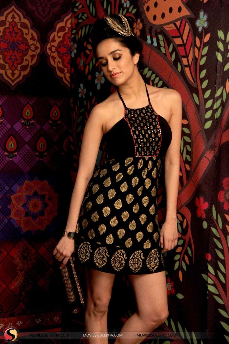 Shraddha Kapoor Shoots For Anita Dongre's Brand Stills