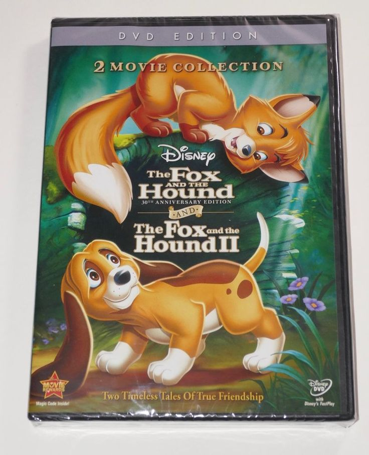 Disney The Fox and the Hound/The Fox and the Hound II (DVD, 2011) SEALED #Disney