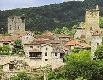 Cardaillac dans le Lot, la visite vidéo d'un des plus beau village de France
