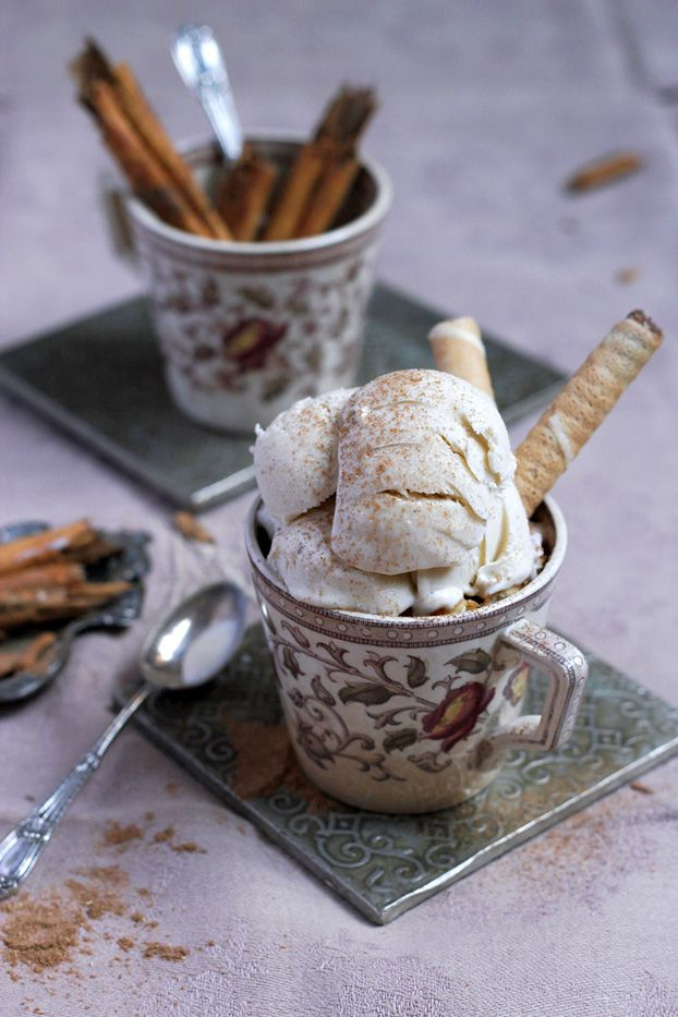 Maltese Wedding Cinnamon Ice Cream. This ice cream would have been the traditional sweet at Maltese wedding in times past.