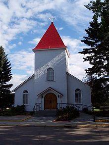 Chapel at the RCMP Academy, Depot Division, Regina, Saskatchewan