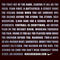 last high school football game poem - Google Search