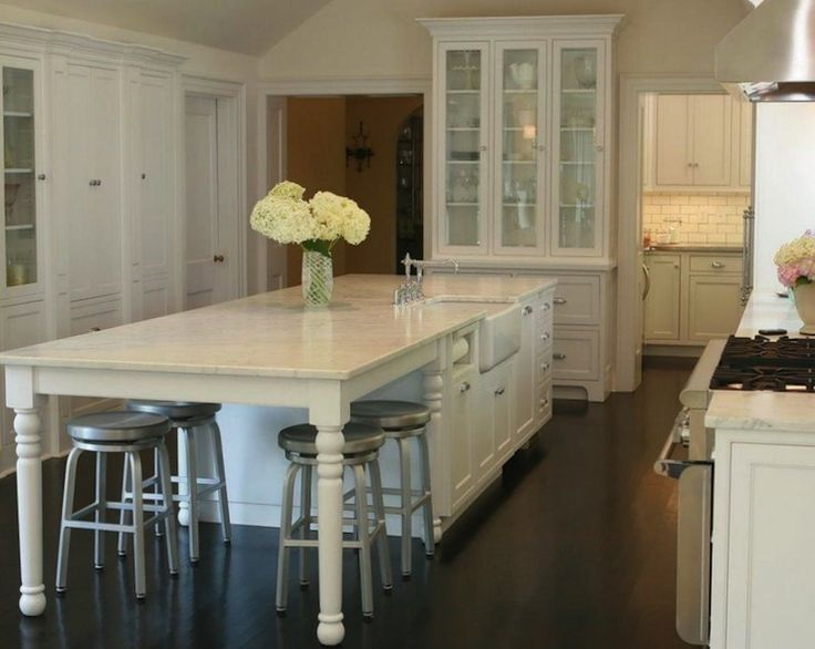 Kitchen Island On Legs 63 best kitchen island nook combo images on pinterest