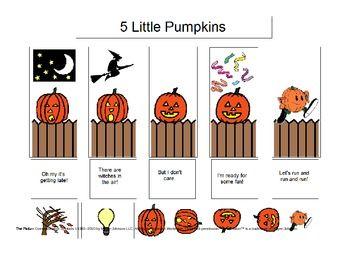 35 best Five Little Pumpkins! images on Pinterest | Five ...
