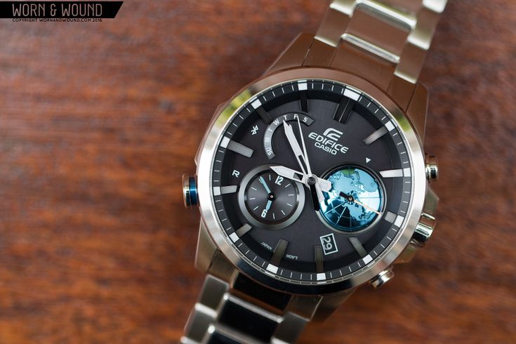 THE CASIO EDIFICE EQB-600, A BLUETOOTH-CONNECTED WATCH FOR THE FREQUENT FLYER