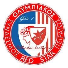 CRVENA ZVEZDA I OLYMPICOS BROTHER TEAMS!!