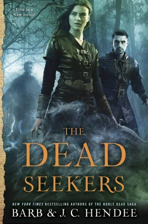 The Dead Seekers by Barb & J.C. Hendee. Dark, intriguing and a real page turner! The Genre Minx Book Reviews.