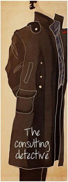 The Consulting Detective: Cosplay Fanart, Detective Sherlock, Add Sherlock, Fangirl, Jackets, Coats Collars, Addiction, Consultant Detective, Sherlock Holmes