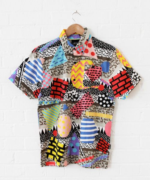 This shirt is very beautiful! Look how the different patterns combine together! #creativeclothing