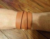bracelet de force en cuir : Bijoux pour hommes par mel-cuir sur ALittleMarket
