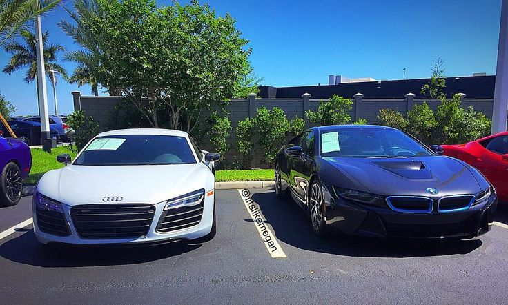 Repost via Instagram: R8 or i8 #Audi #r8 #audir8 #audizine #fortitude #quattro #4rings #audichick #audigramm #audilove #audination #bmw #bimmer #i8 #bmwi8 #carsovereverything #carswithoutlimits #cargasm #cargirl #carporn #carselfie #carsofinstagram #carlifestyle #fastcars #girlswholovecars #heelsnclutch #love #ladydriven #sexy #ridiculouslifestyle by iitslikemegan