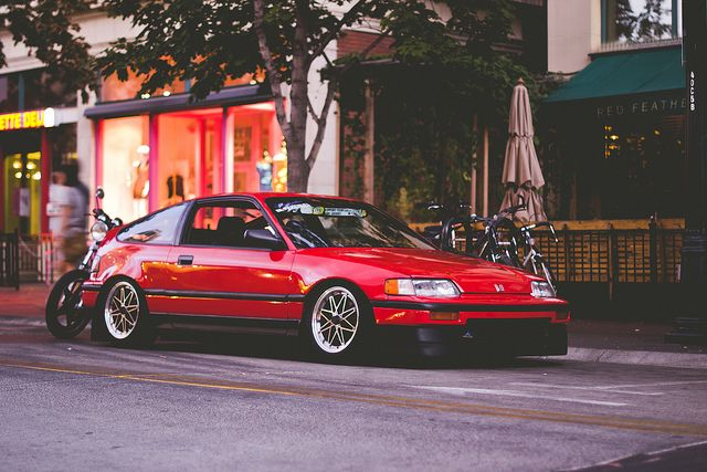 crx there was a time when I was obsessed with these cars