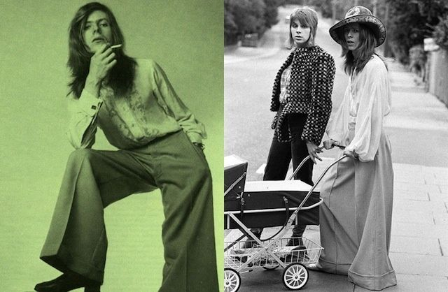 david bowie long hair stroller
