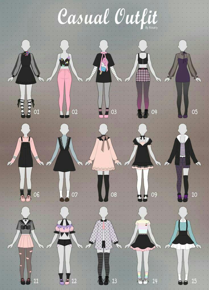 Oc Outfit Ideas : outfit, ideas, Outfit, Ideas