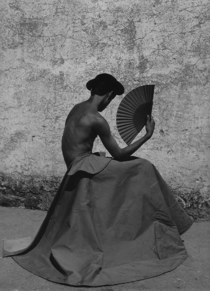 "Ruven Afanador | Torero Series | 15 / Eduardo Gallo Espinosa, ""El Gallo,"" Salamanca, Spain, 2001, Selenium Toned Silver Gelatin Photograph, Ed. 15"