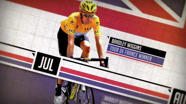 I created this title sequence for the Sky Sports programme '2012: The Greatest Sporting Year'. The show celebrates the greatest British achievements in sport this past year and therefore the union jack became an integral part of the design. I wanted the sequence to feel modern and to be based around the simple idea of a timeline, introducing just some of the sporting heroes to be featured in the show.