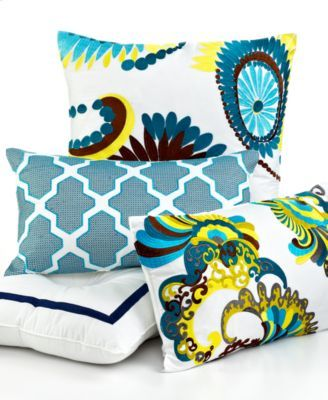 Trina Turk Bedding, Stones Decorative Pillows | macys.com
