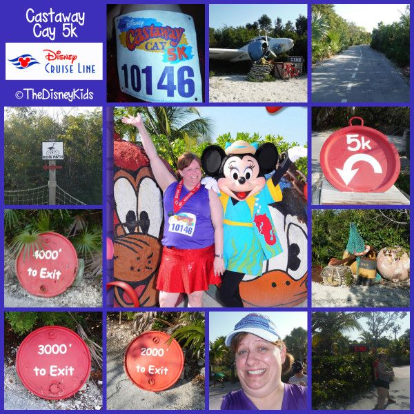 I participated in the Disney Castaway Cay 5k. Learn all about it at www.TheDisneyKids.com. ©TheDisneyKids