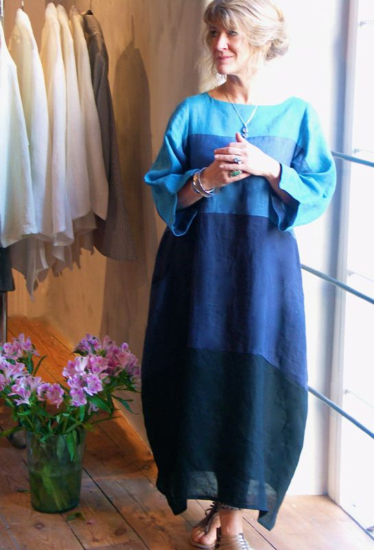 Полосатый платье, белье £ 275.