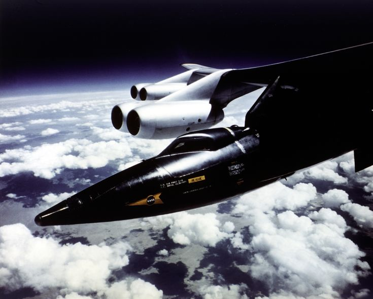 X-15 and B-52 Mothership