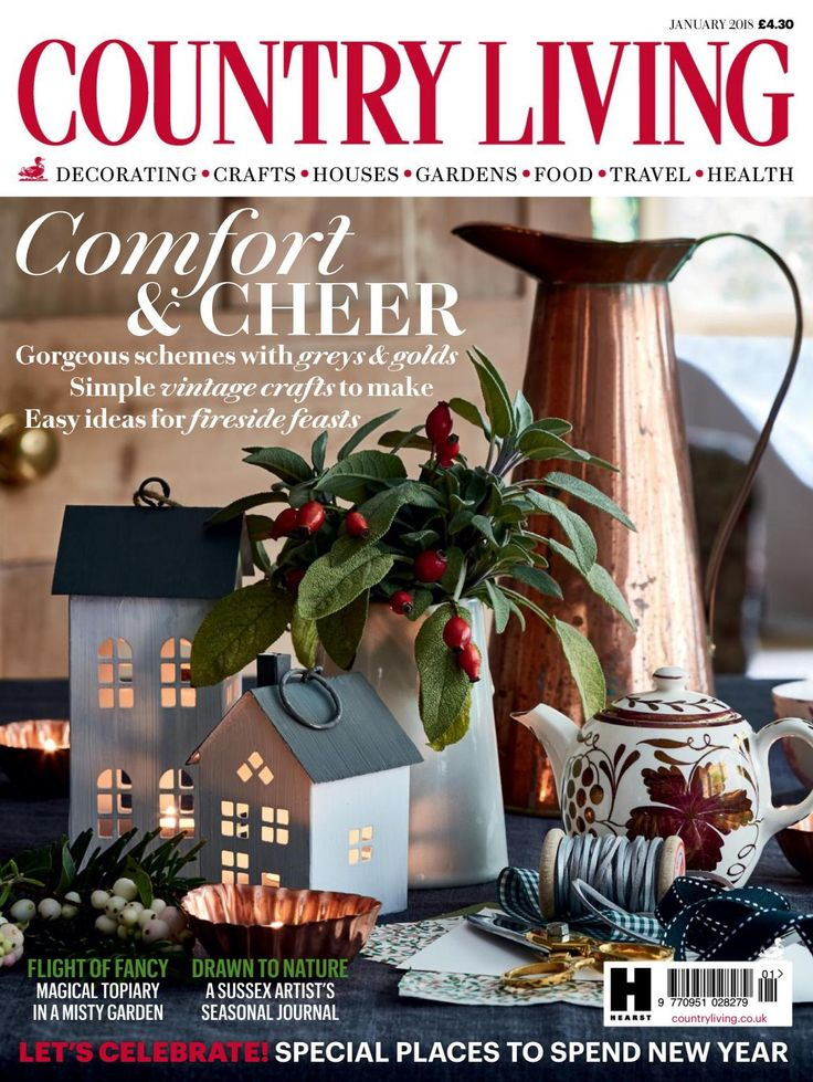 Country Living magazine, January 2018