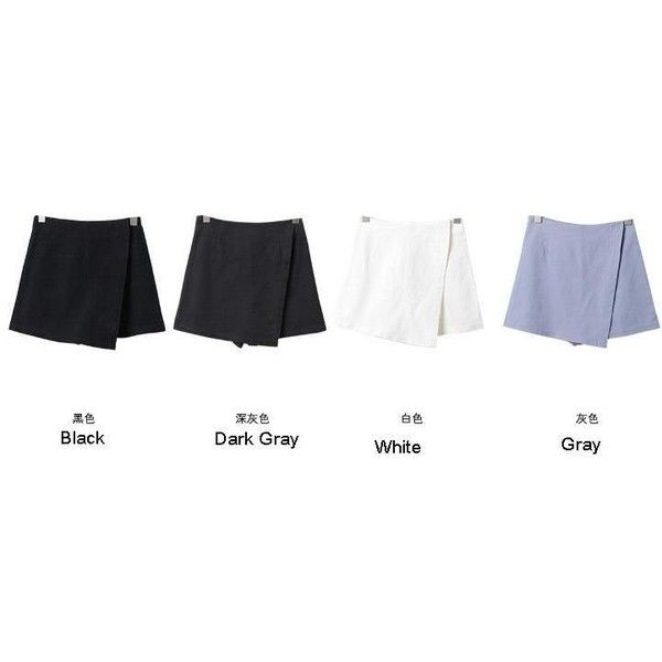 Plaid Skort (1.035 RUB) ❤ liked on Polyvore featuring plaid skort, golf skirts, white skort, plaid golf skirt and white golf skirt