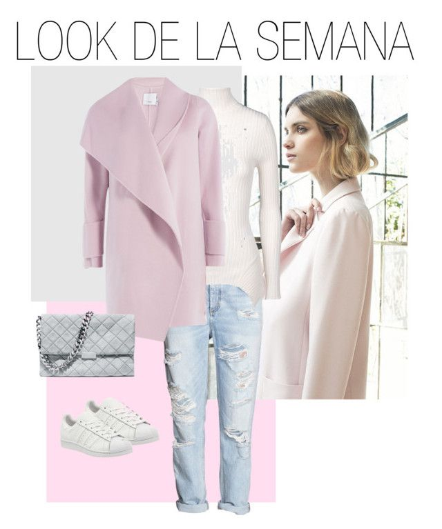 """LOOK DE LA SEMANA 1"" by pattyzgz on Polyvore featuring moda, Nuevo, H&M, STELLA McCARTNEY, Vince, adidas, women's clothing, women, female y woman"